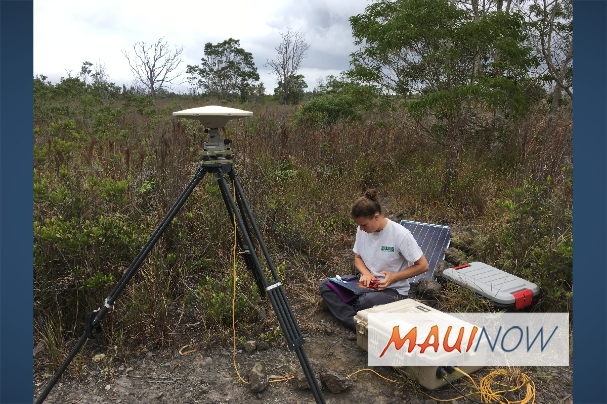 Science Community Monitors Kīlauea's Changing Shape