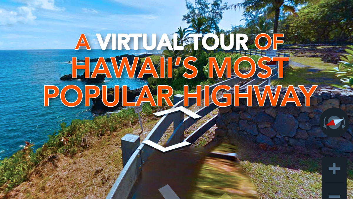 Google Maps Features Street View of Hawai'i's Most Popular Highway