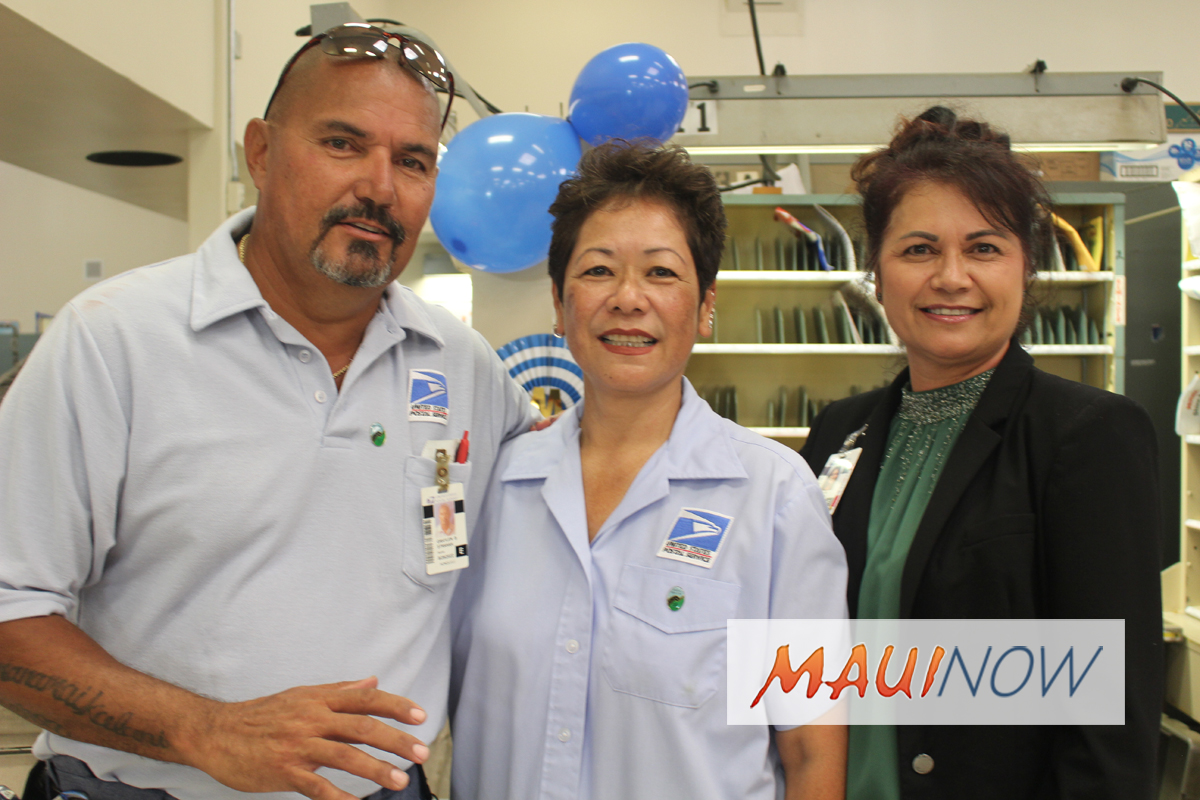 Two Wailuku Postal Workers Honored with National Safety Awards