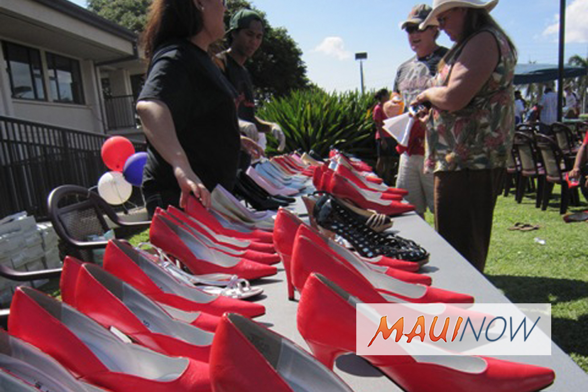7th Annual Walk a Mile in Her Shoes at Lahaina Cannery, Sept. 29