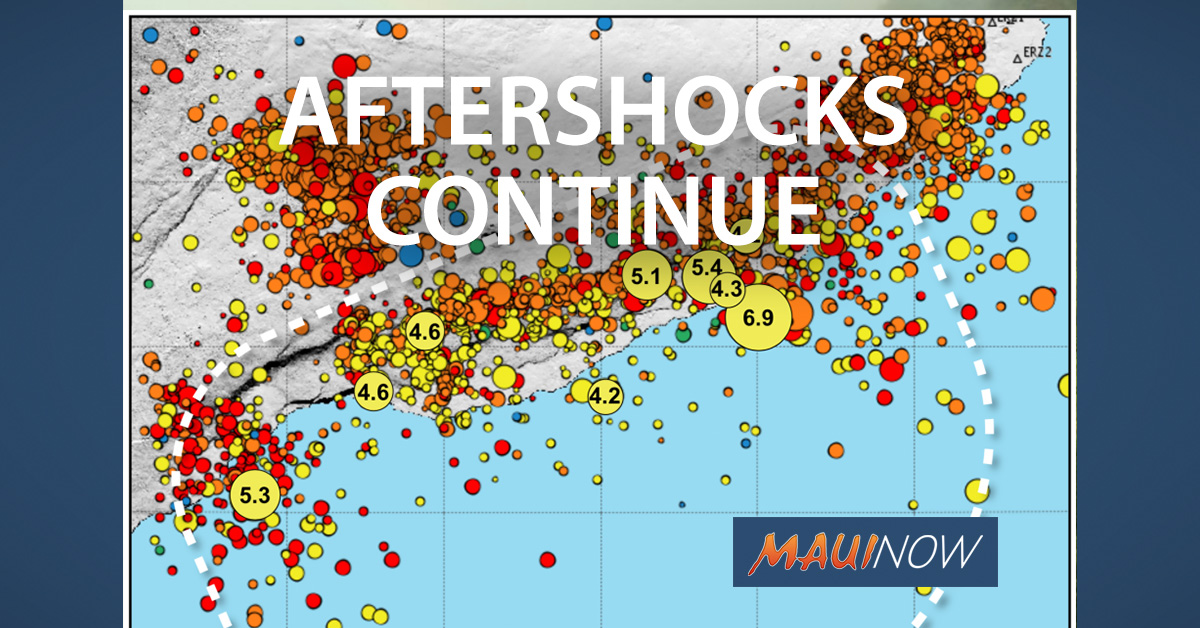 VOLCANO WATCH: Aftershocks Can Continue for Centuries