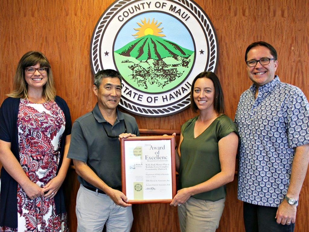 Maui Now : Wailuku Redevelopment Community Outreach Earns