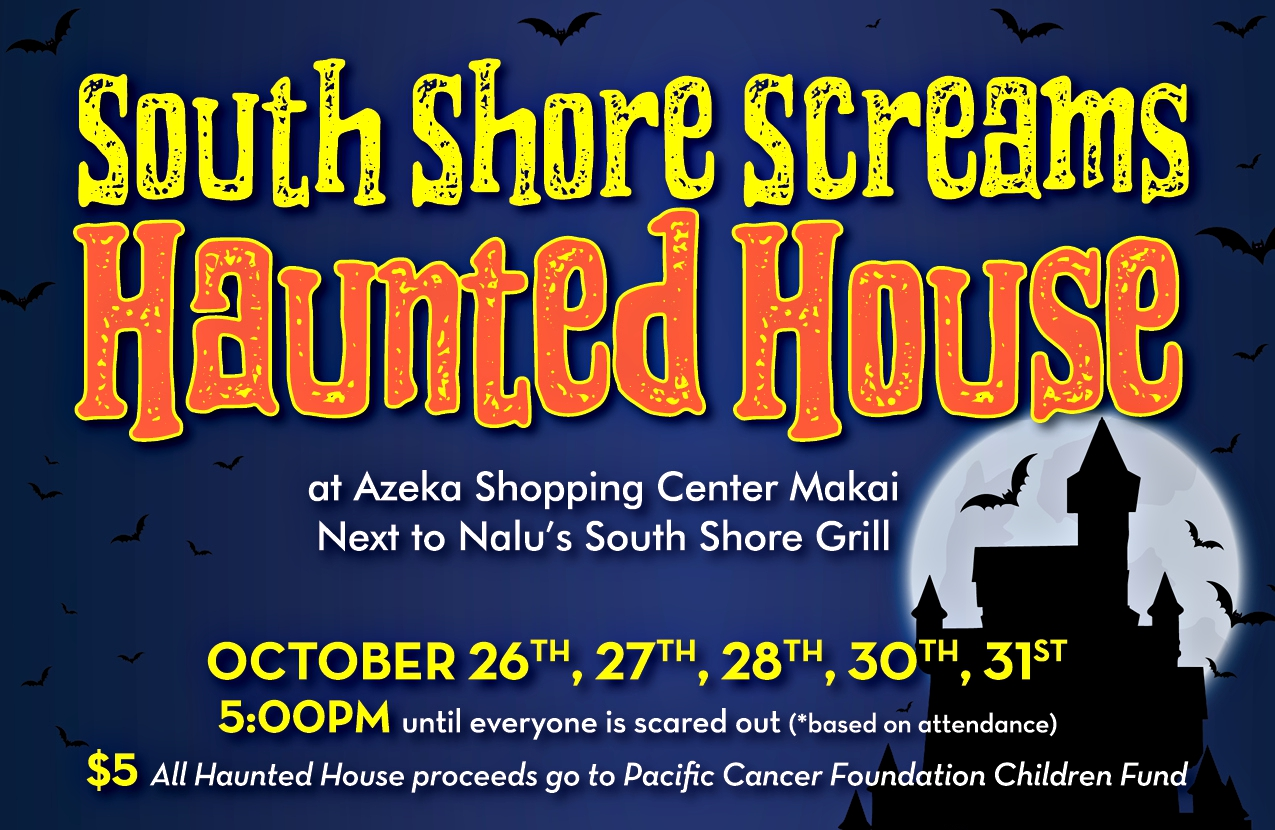 South Shore Screams Haunted House Set for Azeka SC
