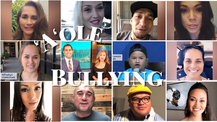 Local Celebrities Rally Around Bullied Maui Boy to Raise Awareness