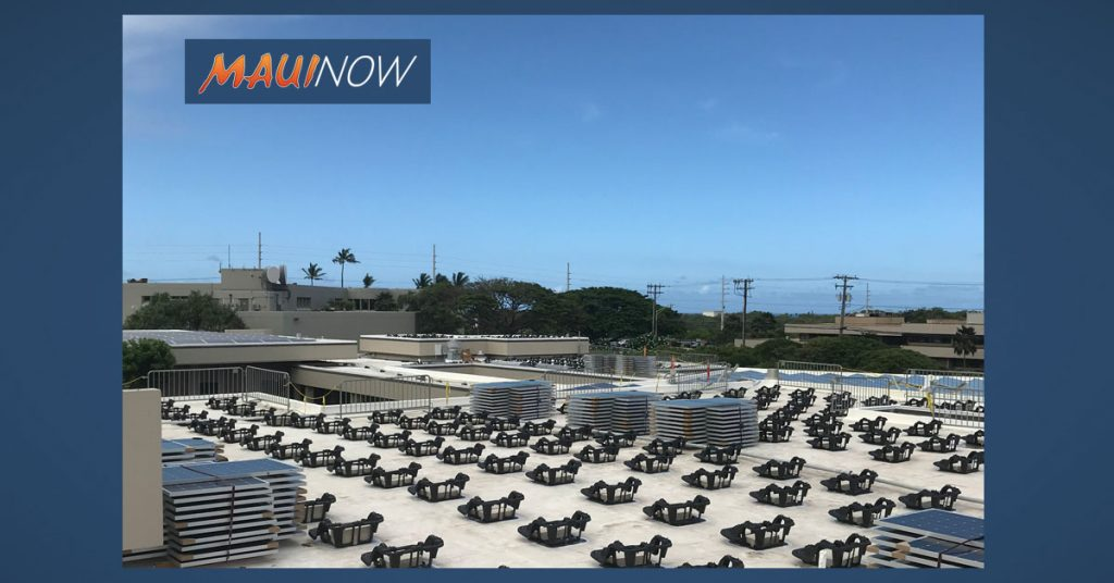 Maui Now : Health Department: State on Target to Reach Renewable Energy Goal
