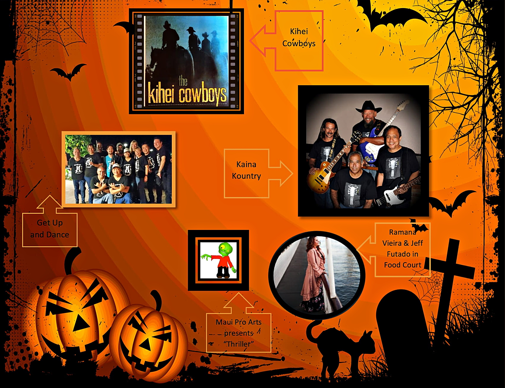 Celebrate Halloween at Kīhei 4th Friday Town Party