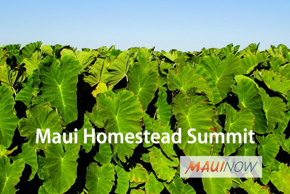 Registration Open for Inaugural Maui Homestead Summit