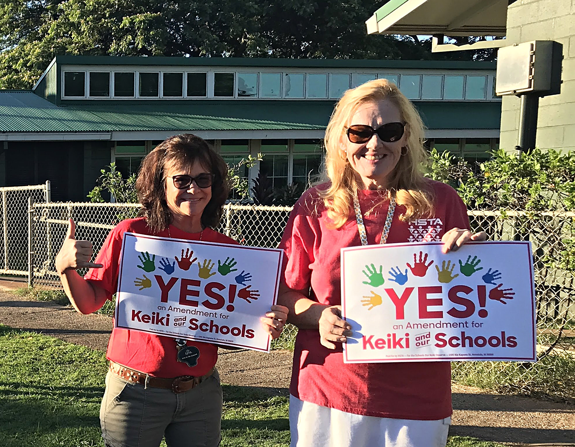 PHOTO UPDATE: Maui Teachers 'Take a Stand'
