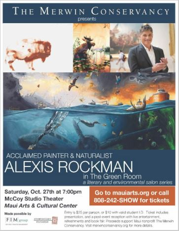 Merwin Conservancy to Present Painter