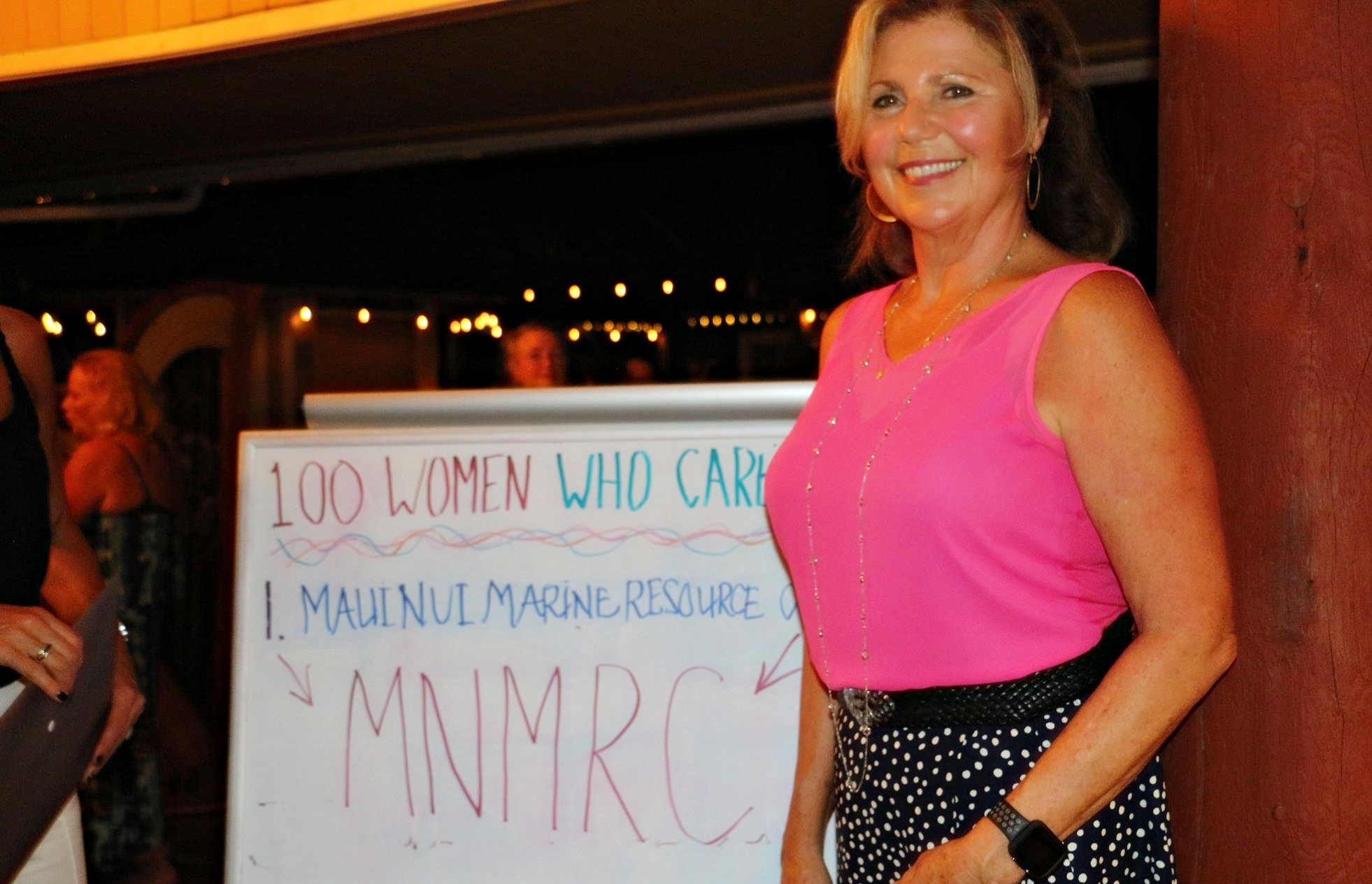 '100+ Women Who Care' Raise $12,500 for Ocean Water Quality Program