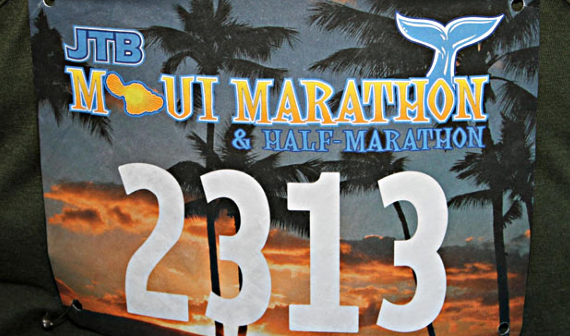 48th Annual Maui Marathon Set for Sunday