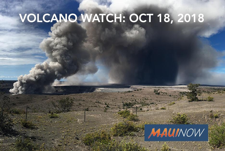Kīlauea Hazard Assessments Include Analyses of Salts on Volcanic Ash