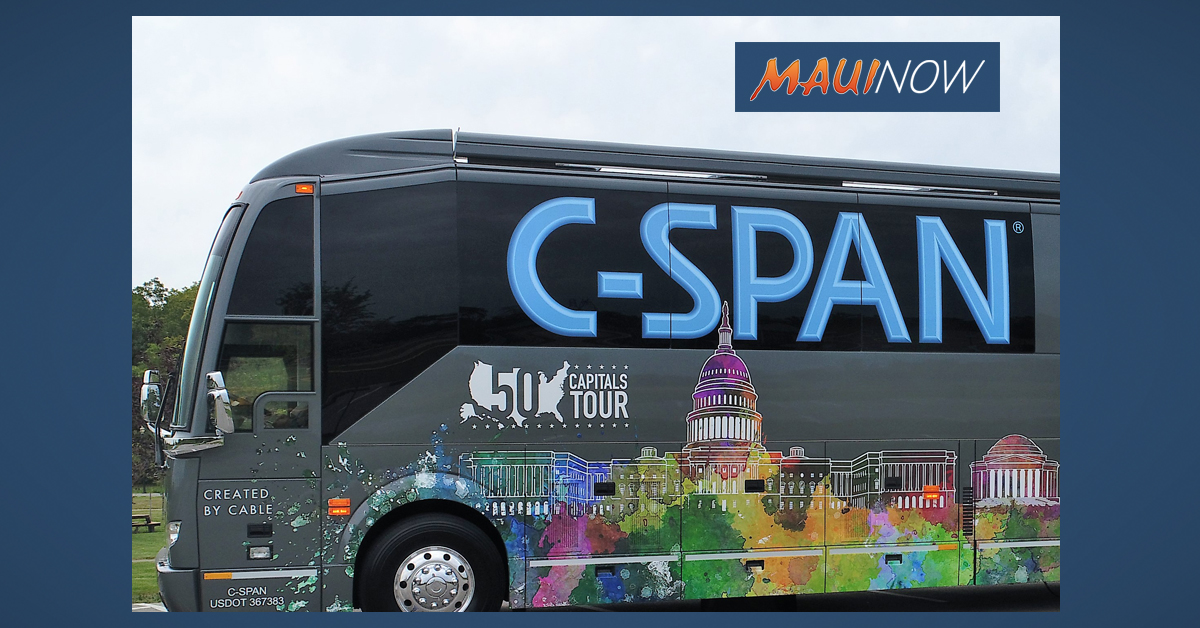 "C-SPAN and Spectrum Present ""Hawaiʻi Weekend"", Oct. 6-7"