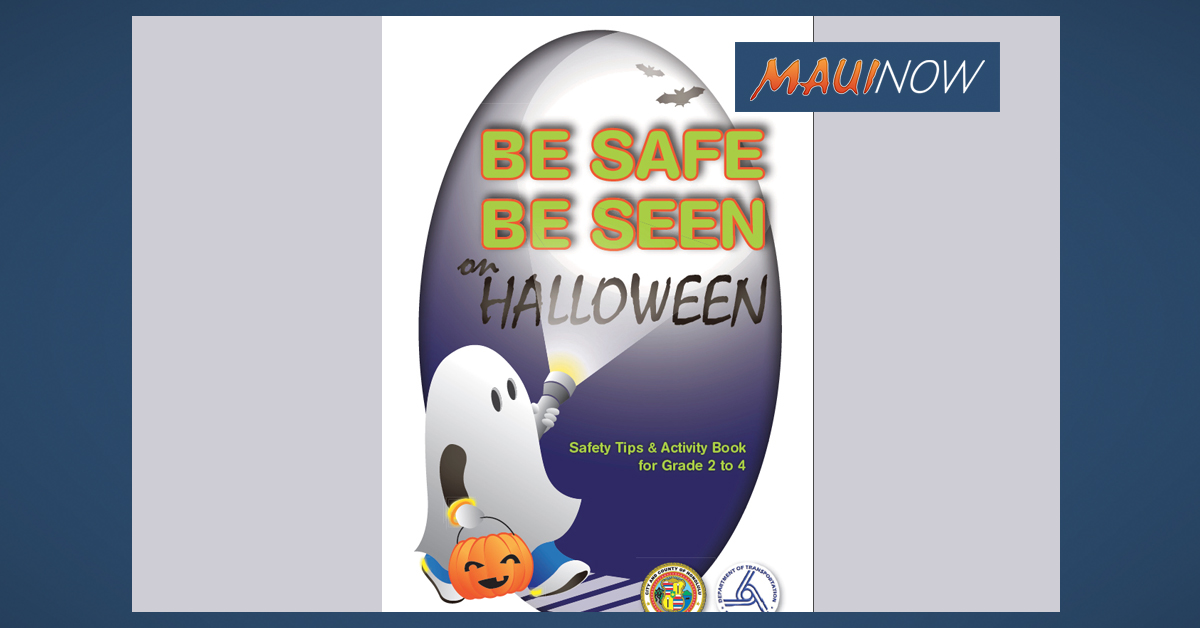 Halloween Safety Tips for Hawaiʻi Pedestrians and Drivers