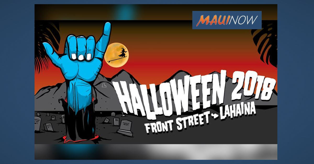 Halloween in Lahaina Shuttle Bus Tickets Available