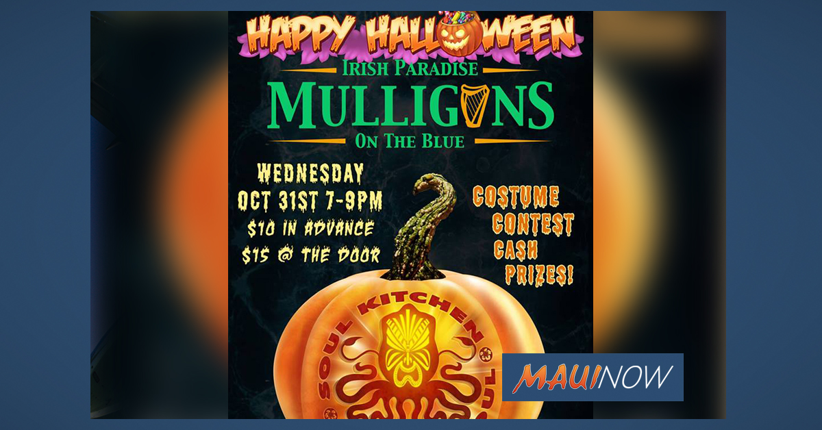 Soul Kitchen at Mulligans Halloween Party
