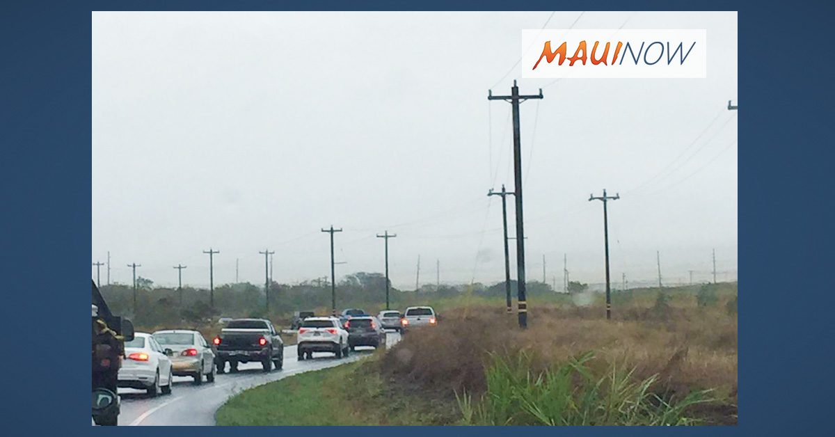 Maui Electric Work Requires Hansen Rd Closure on Nov. 1