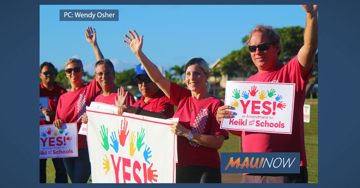 Maui Teachers Join Statewide HSTA Walk-in Protest