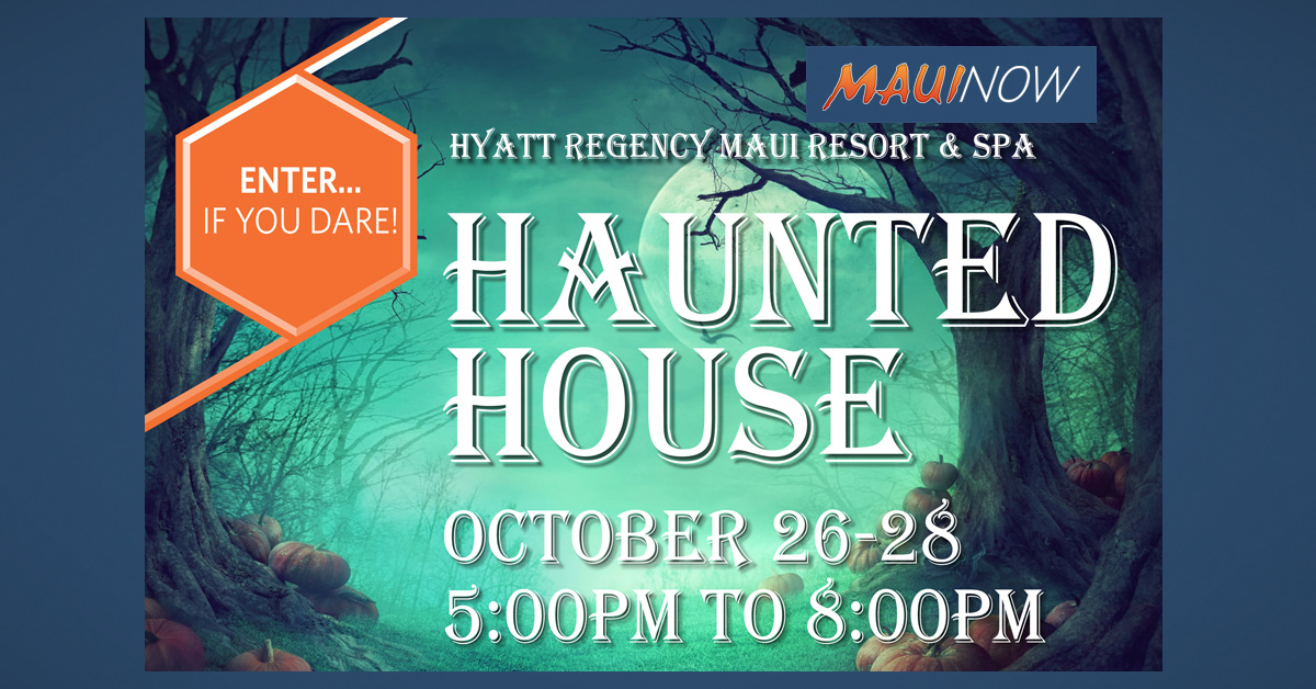 Hyatt Regency Maui Hosts Spooky Haunted House