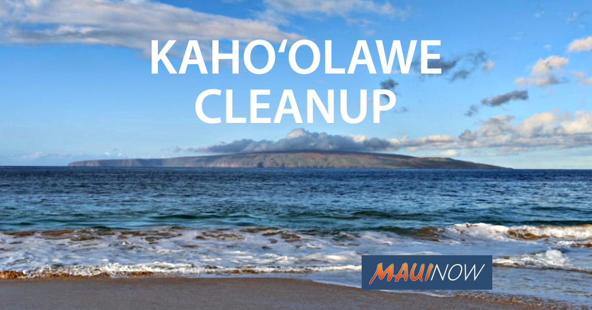 2.5 Tons of Plastic Collected in Kaho'olawe Cleanup
