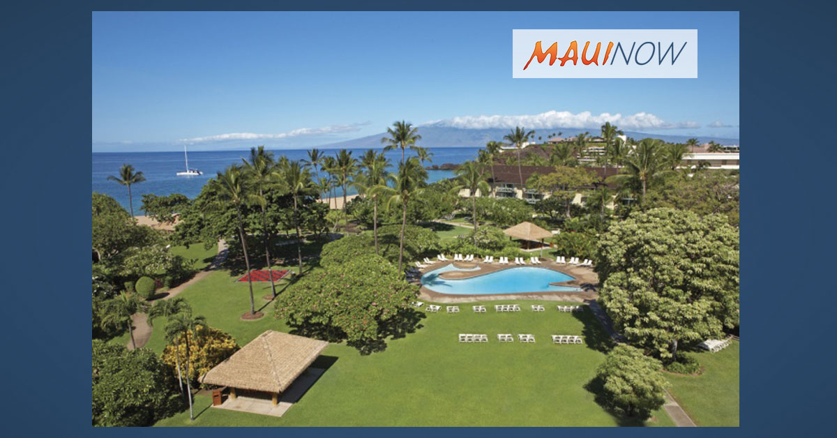 Kā'anapali Beach Hotel No. 1 in Condé Nast Traveler Readers' Choice Awards