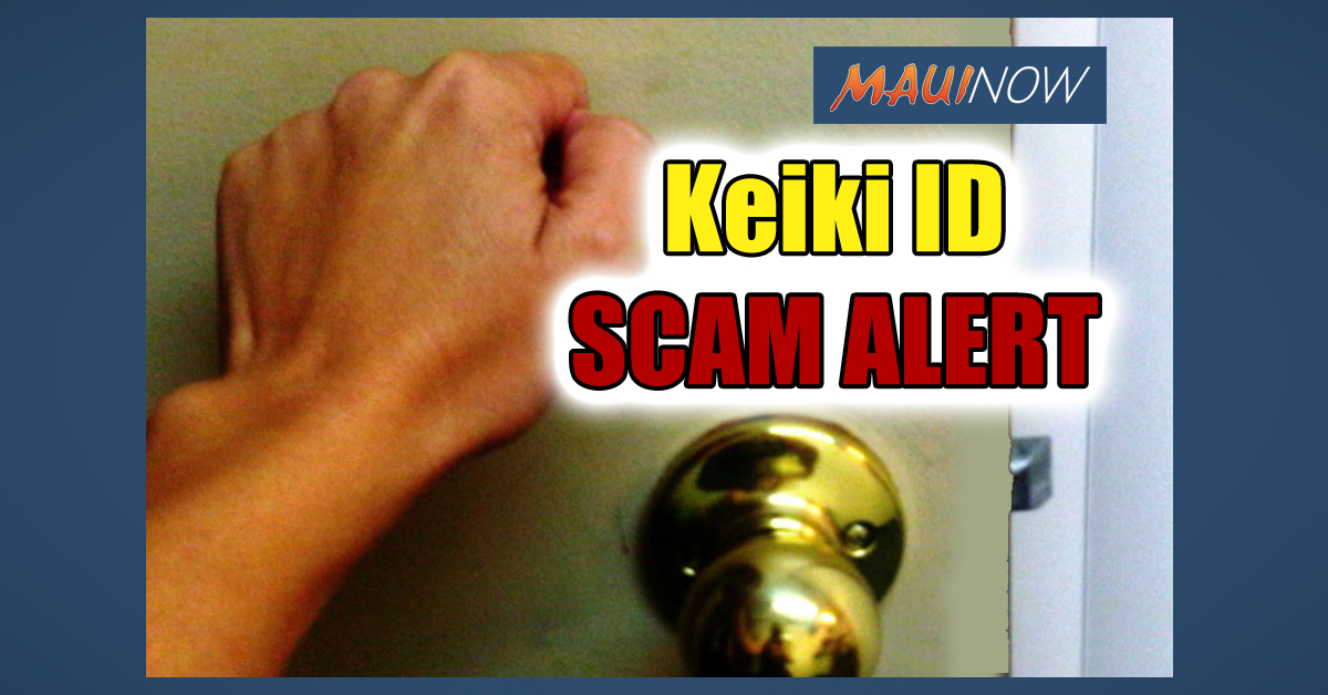 Hawai'i Attorney General Warns of Keiki ID Kit Scam