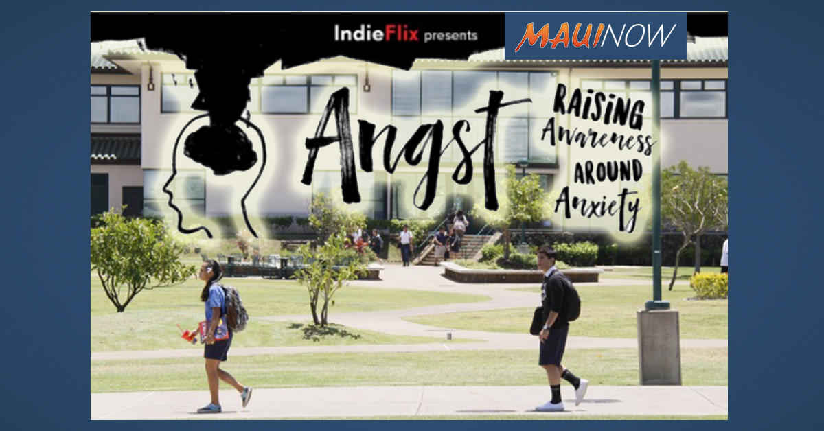 Maui School Hosts Screening of Documentary on Anxiety