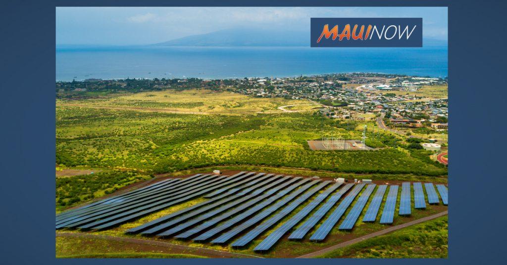 Maui Now: Maui Electric Seeks Renewable Energy Projects on Moloka'i, Lāna'i