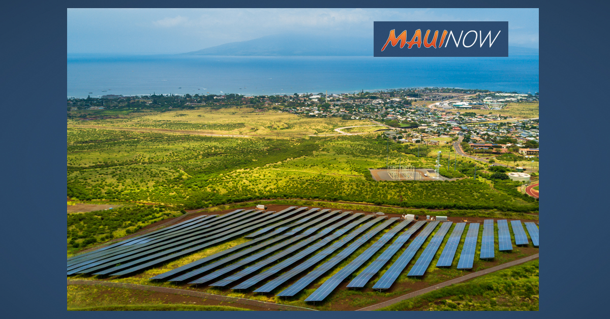 Maui Electric Seeks Renewable Energy Projects on Moloka'i, Lāna'i
