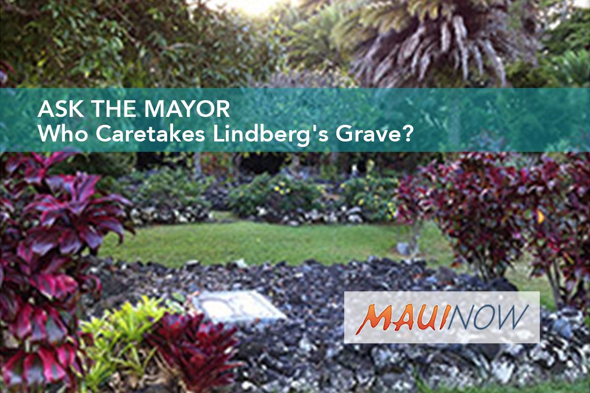 Ask the Mayor: Who Caretakes Lindberg's Grave?