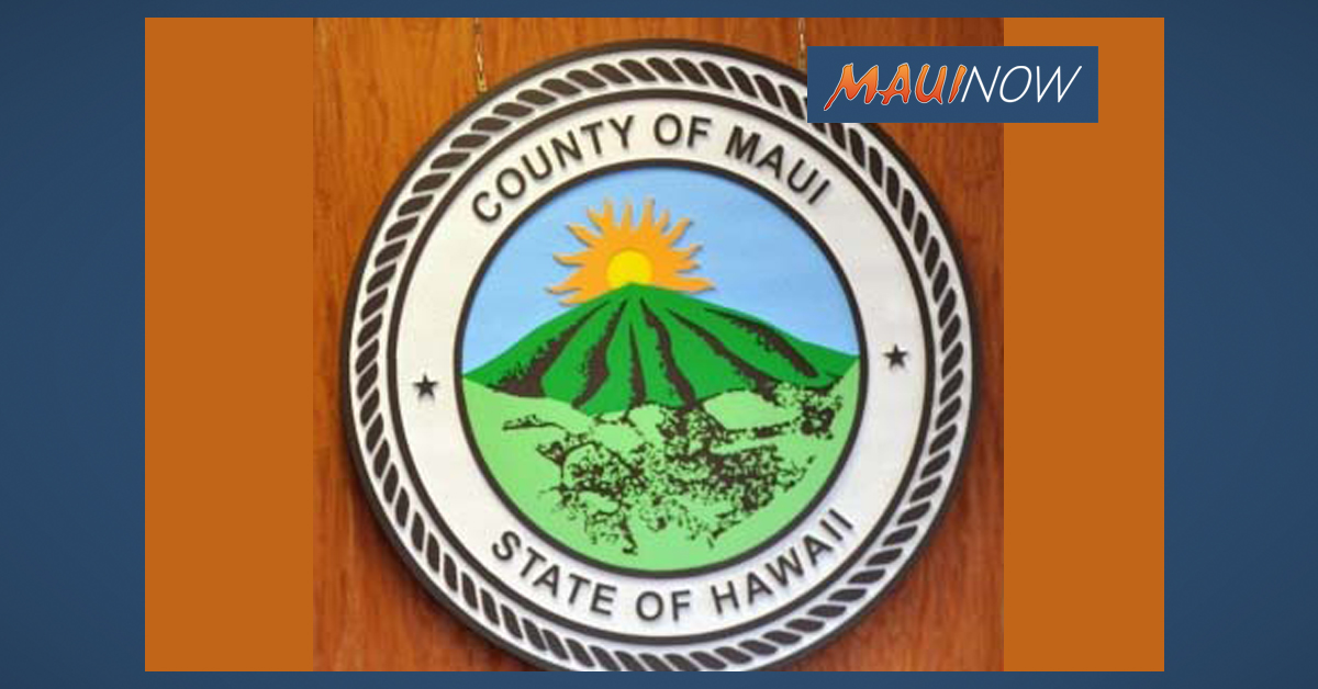 Maui County Awarded Certificate of Achievement for Excellence in Financial Reporting