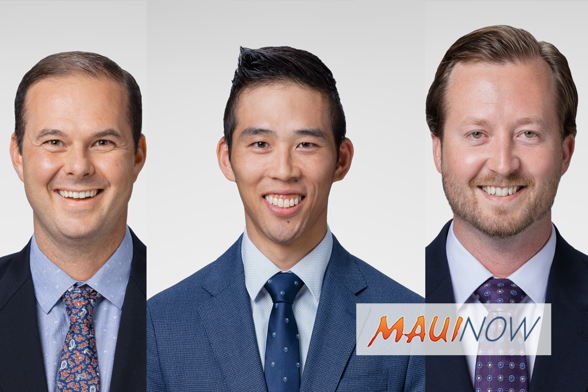 Kaiser Permanente Maui Adds Three New Doctors