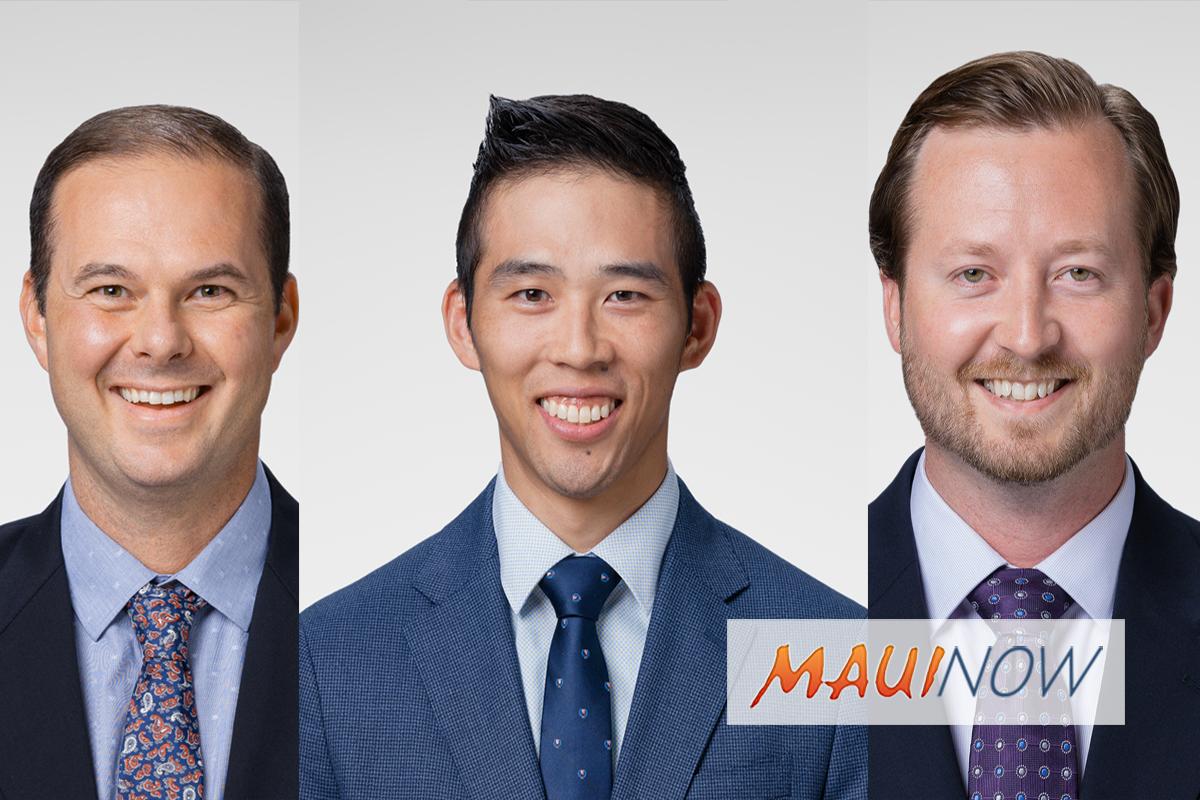 Kaiser Permanente Maui Adds Three New Doctors