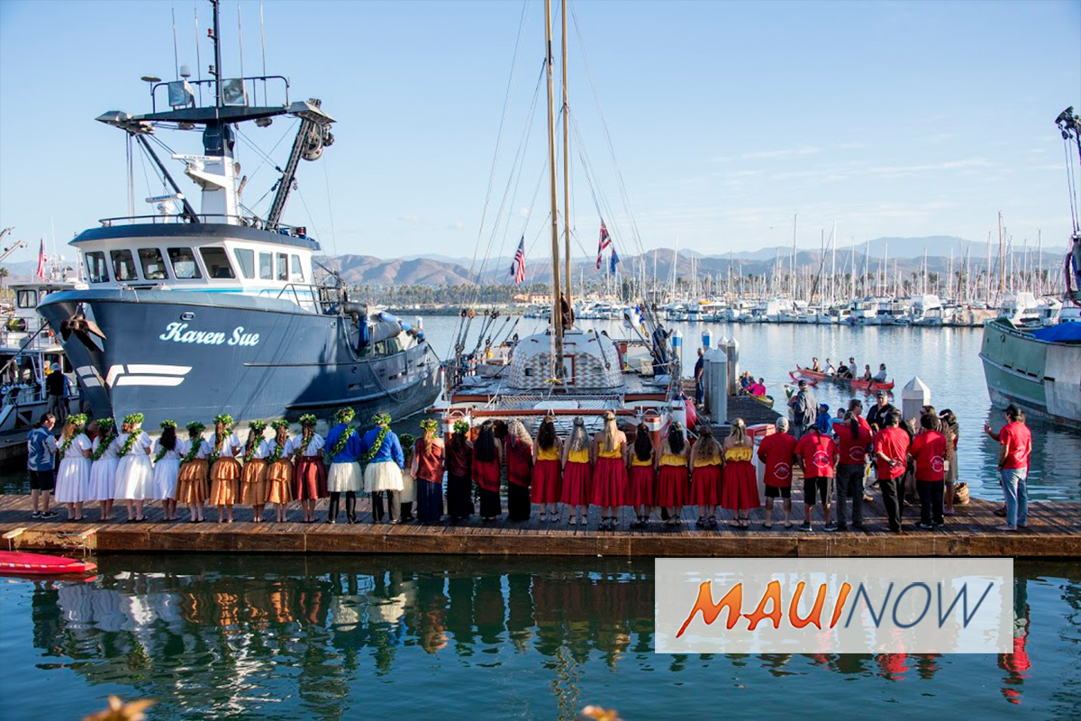 Hikianalia Arrives in Ventura County, California