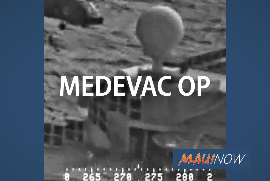 Coast Guard, Navy Medevac Cruise Ship Passenger