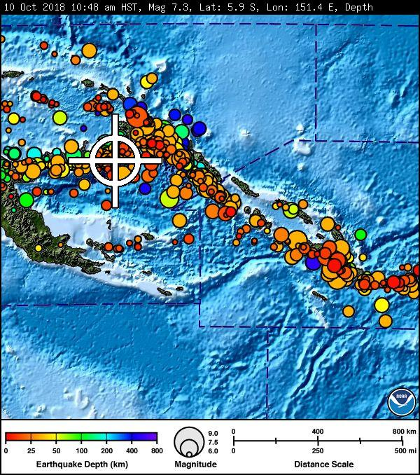 Tsunami threat as 7.0-magnitude quake hits Papua New Guinea class=