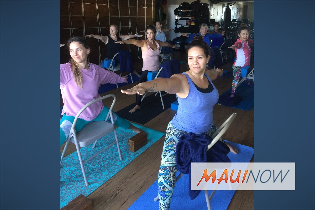 OM Maui Yoga Class Supports Homeless Shelter