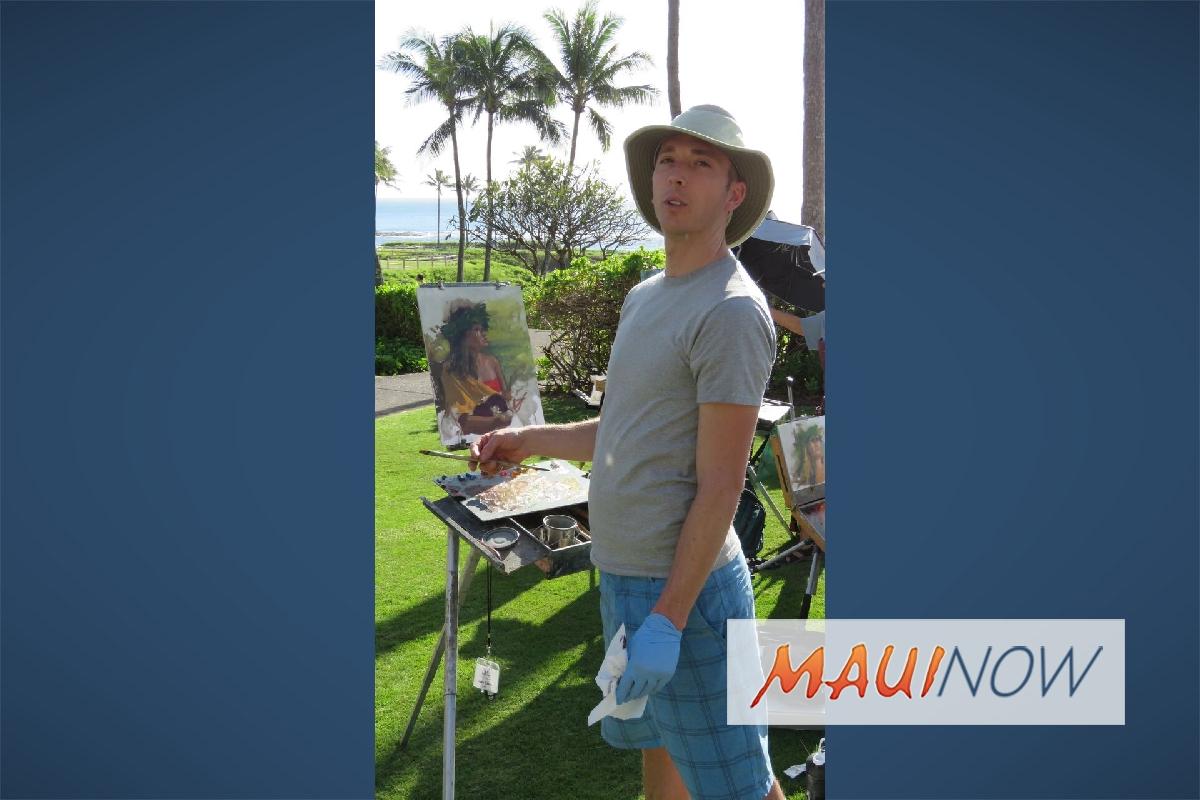 Maui Arts League Offers Plein Air Workshops