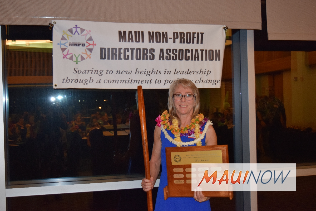 Maui Non Profit Directors Association Announces Honorees