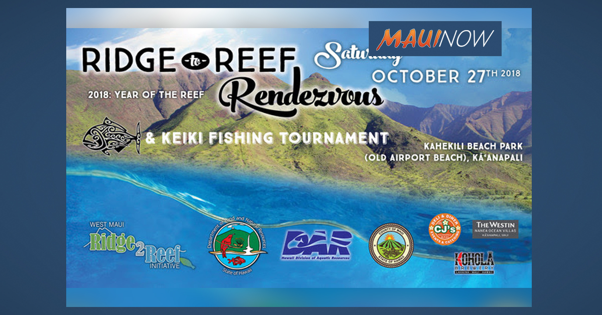 9th Annual Ridge to Reef Rendezvous Hosts Free Fishing Tournament