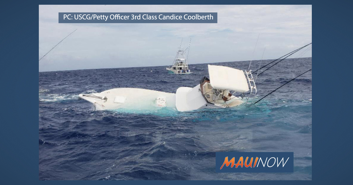 Nine Rescued from Sinking Charter Fishing Boat off ʻEwa Beach, Oʻahu