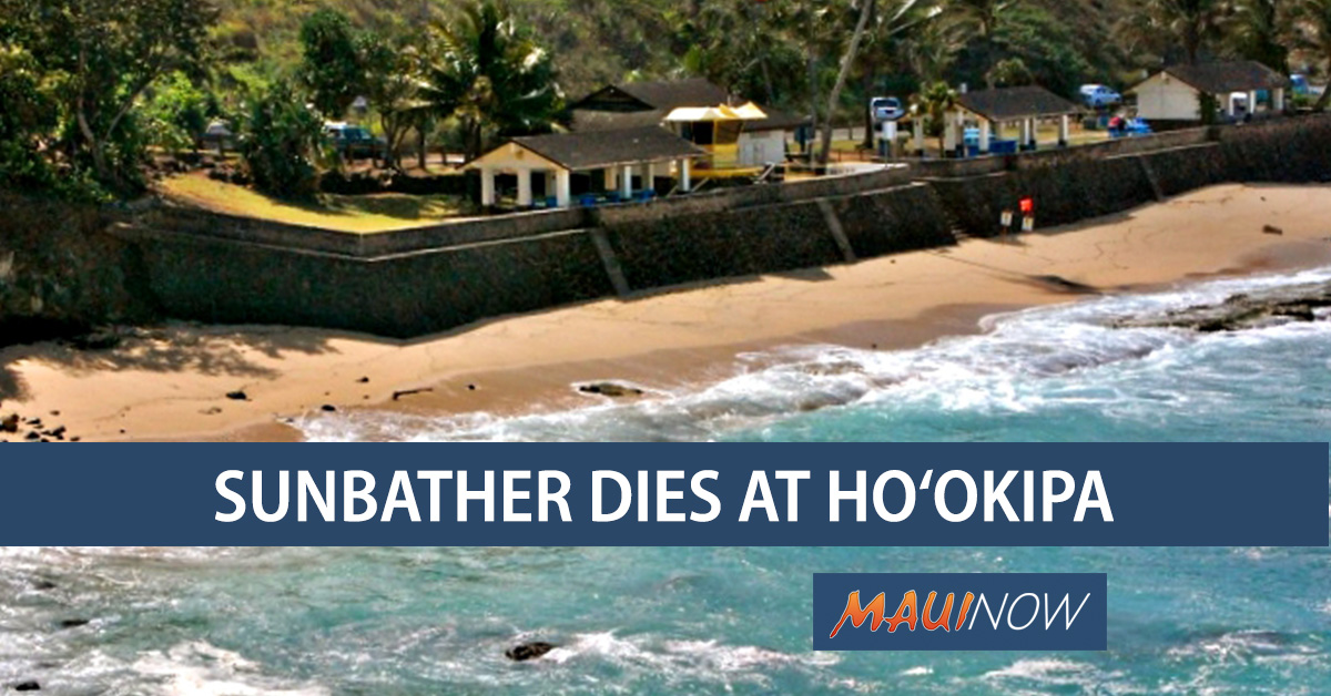 Ho'okipa Sunbather Dies After Being Run Over by Truck