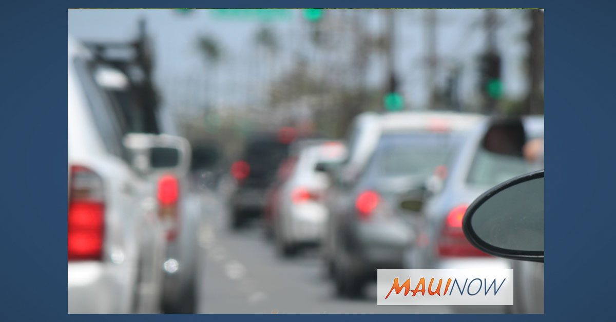 Maui, Moloka'i Lane Closures, Jan 26 - Feb 1