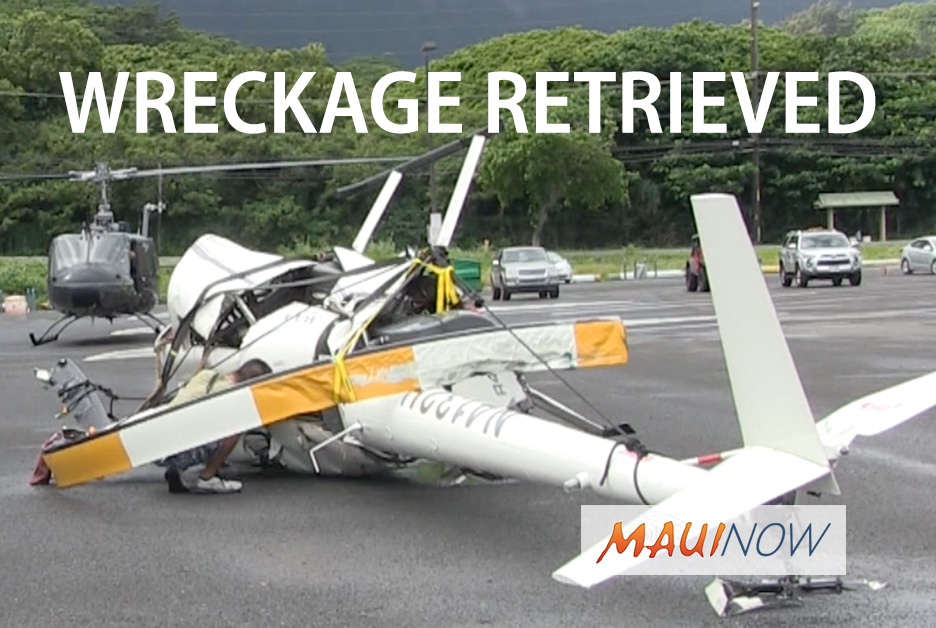 VIDEO: Hawai'i Tour Helicopter Wreckage Retrieved