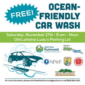 NOAA to Host Ocean-Friendly Car Wash