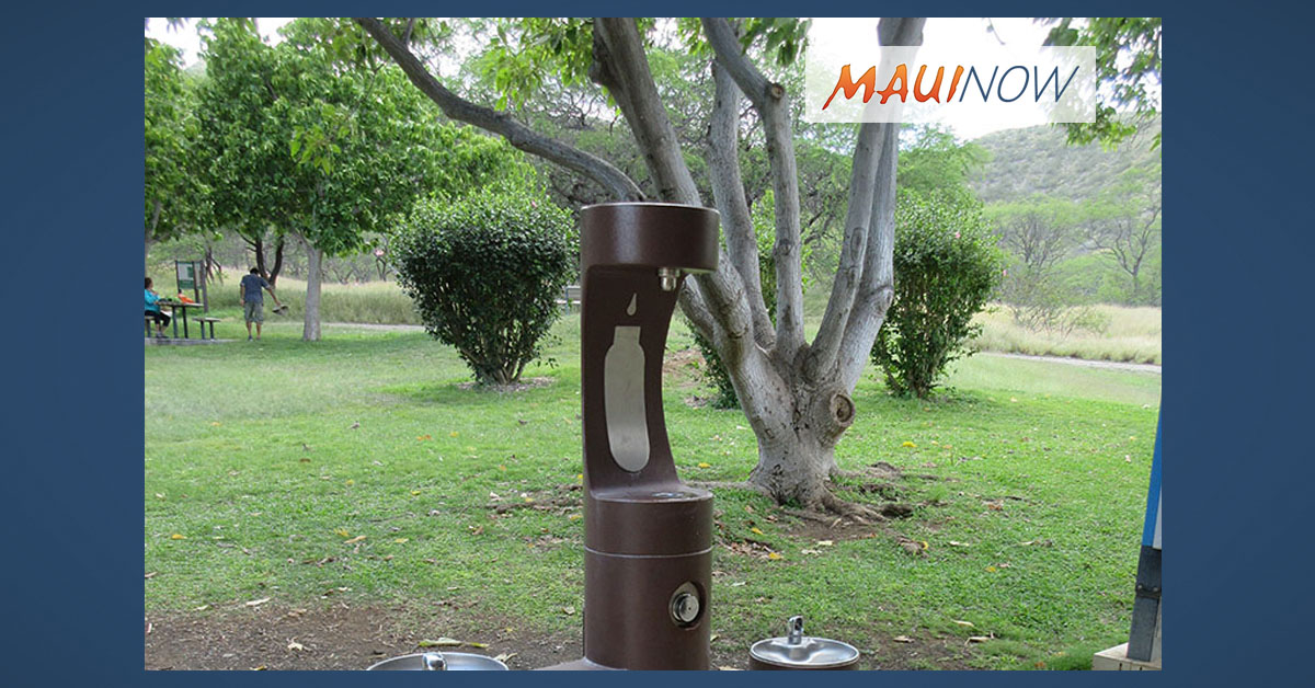 Wai'ānapanapa Among 15 State Parks Slated for Water Bottle Filling Stations