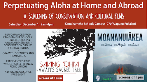 MISC and Kamehameha Schools Host Film Screening