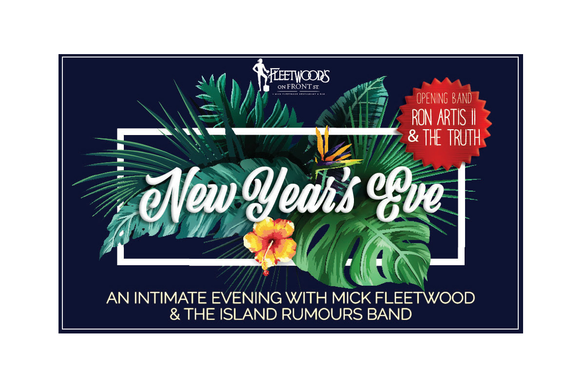 New Years Eve Party with Mick Fleetwood Presale Tickets Available