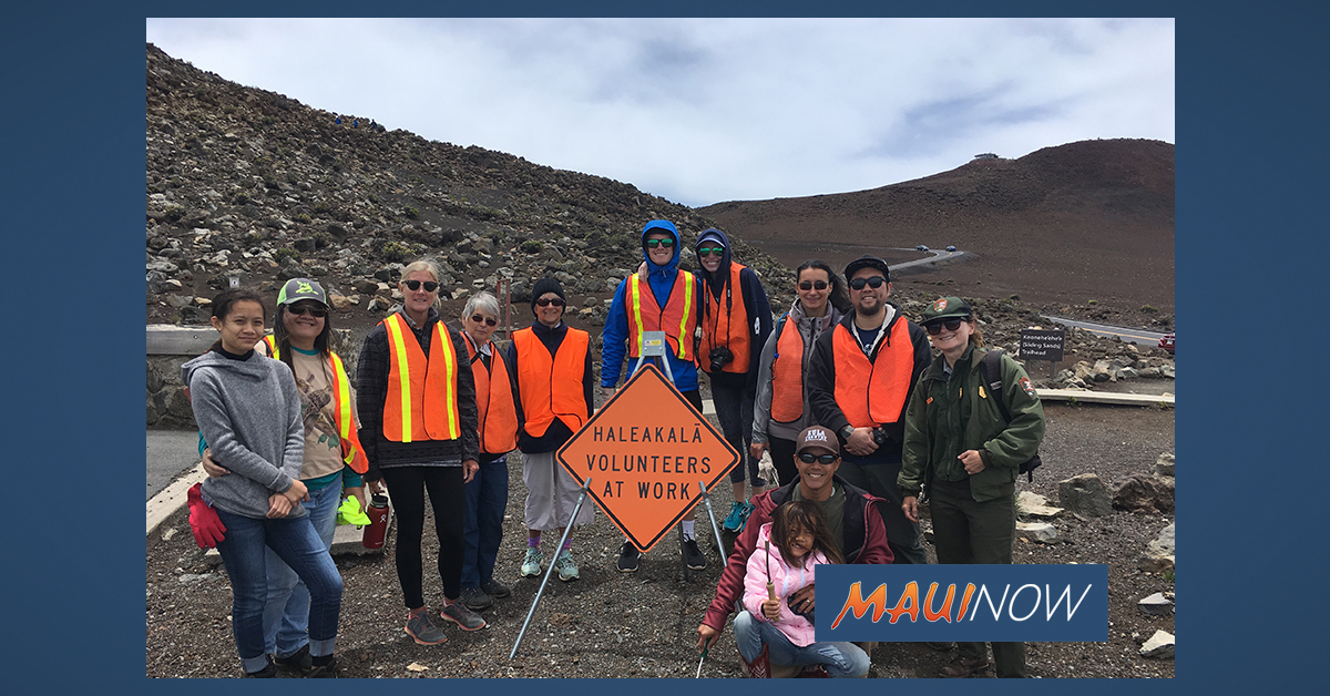 National Park Seeks Volunteers for Waele ma Haleakalā