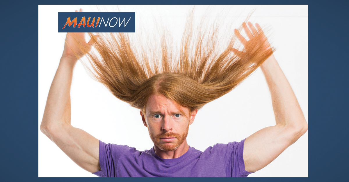 Comedian & YouTube Star JP Sears Performs on Maui, Jan. 5